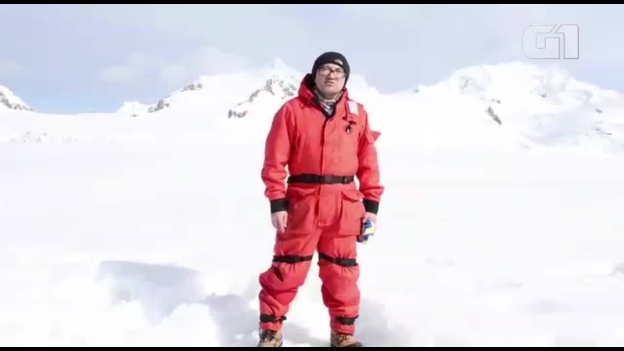 Cearense Flávio Cruz fala sobre sua trajetória direto da Antártica