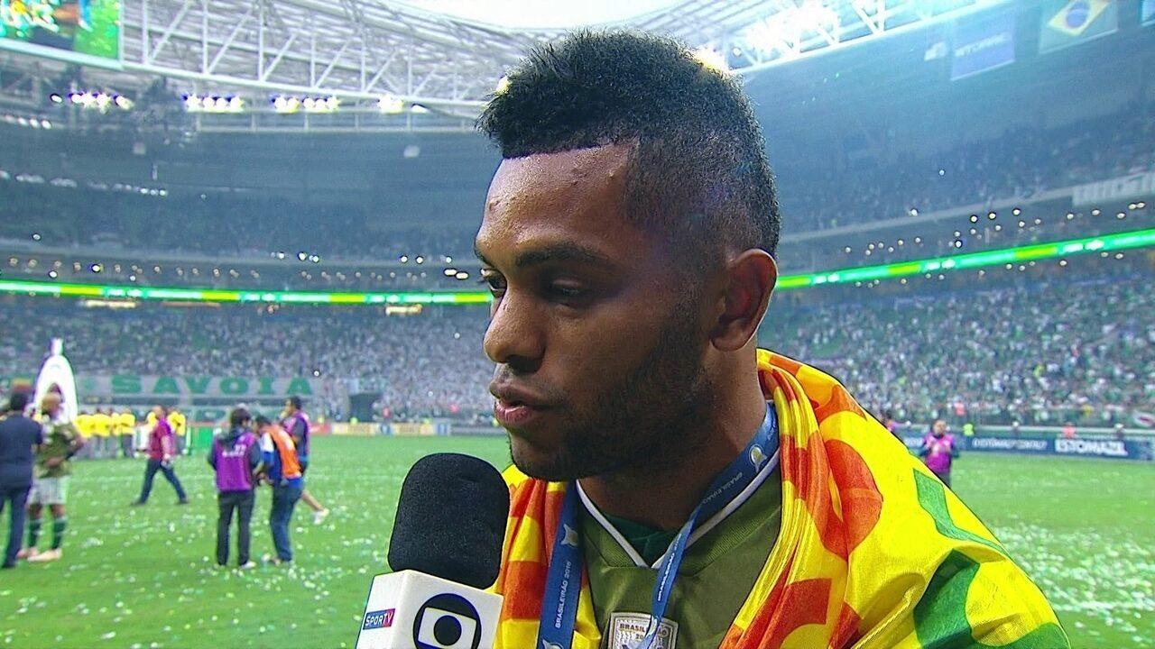 """Borja diz que quer permanecer no Palmeiras em 2019: """"Quero fazer mais"""""""