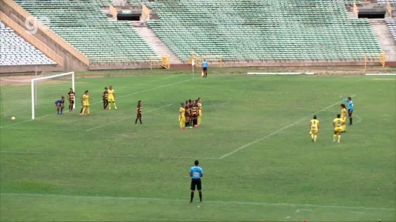 Tiradentes-PI vence por 3 a 2 Abelhas Rainhas pela terceira rodada da Copa Piauí feminina