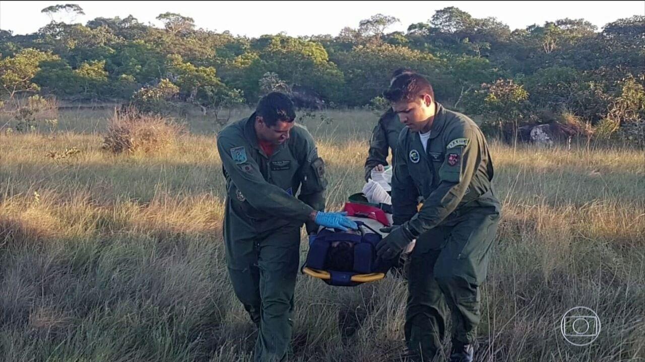 Piloto e co-piloto de avião que desapareceu em MT são encontrados com vida