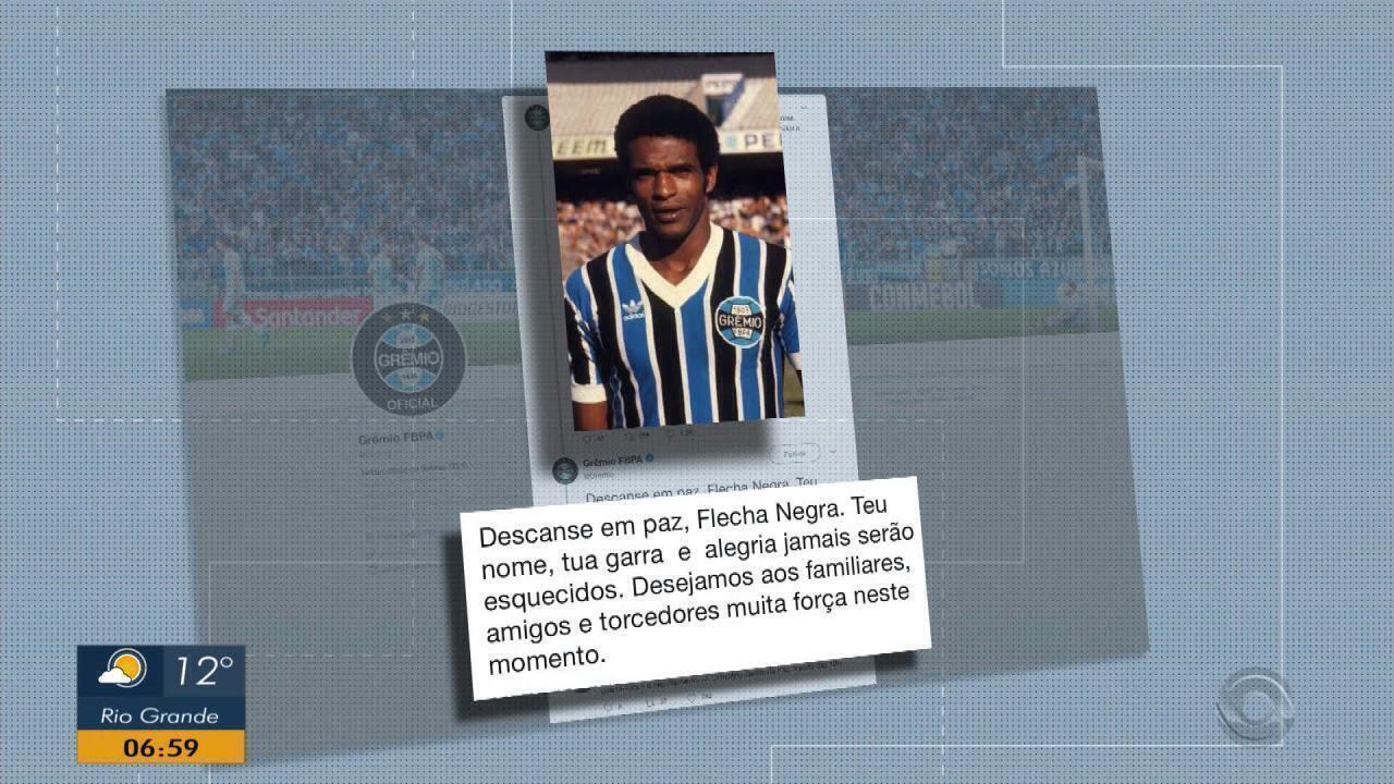 Morre o ex-jogador do Grêmio e vereador de Porto Alegre Tarciso Flecha Negra 8536eb7e7c9e4