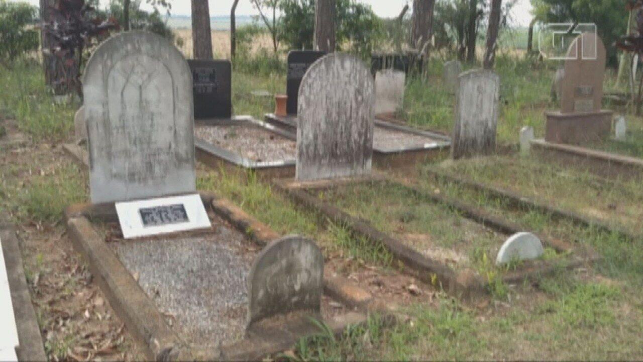 Cemitério Americano guarda descendentes da imigração estadunidense em Santa Bárbara