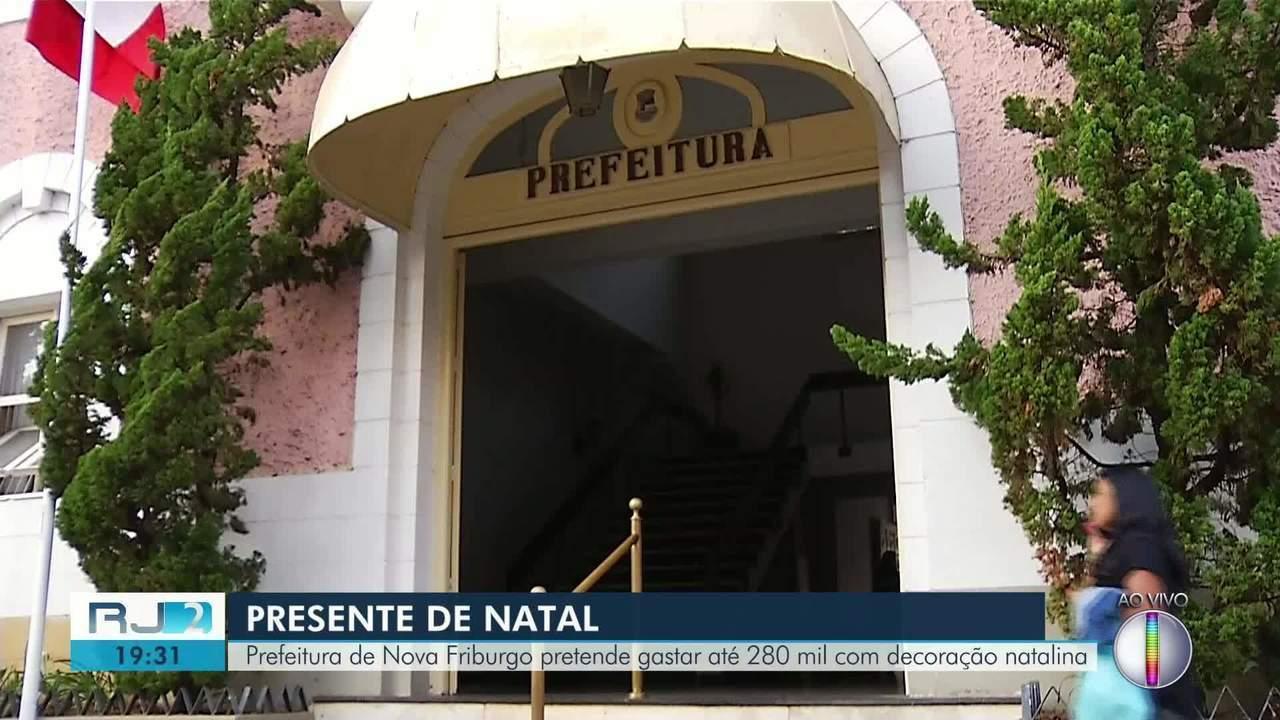 Prefeitura de Nova Friburgo pretende gastar até 280 mil com decoração natalina