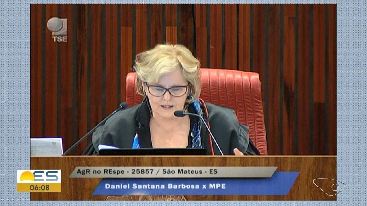 TSE adia decisão sobre prefeito de São Mateus, ES
