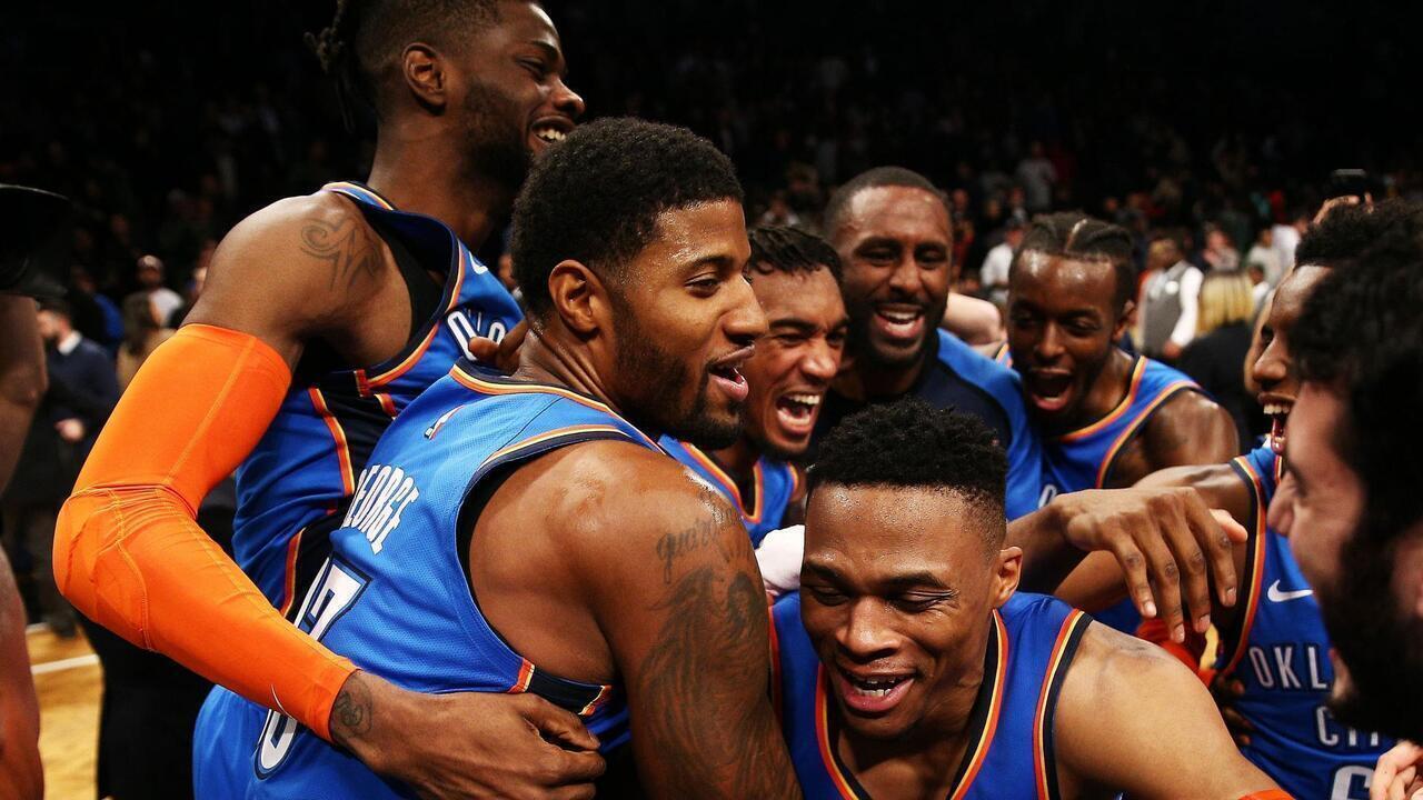 Melhores momentos: Oklahoma City Thunder 114 x 112 Brooklyn Nets pela NBA