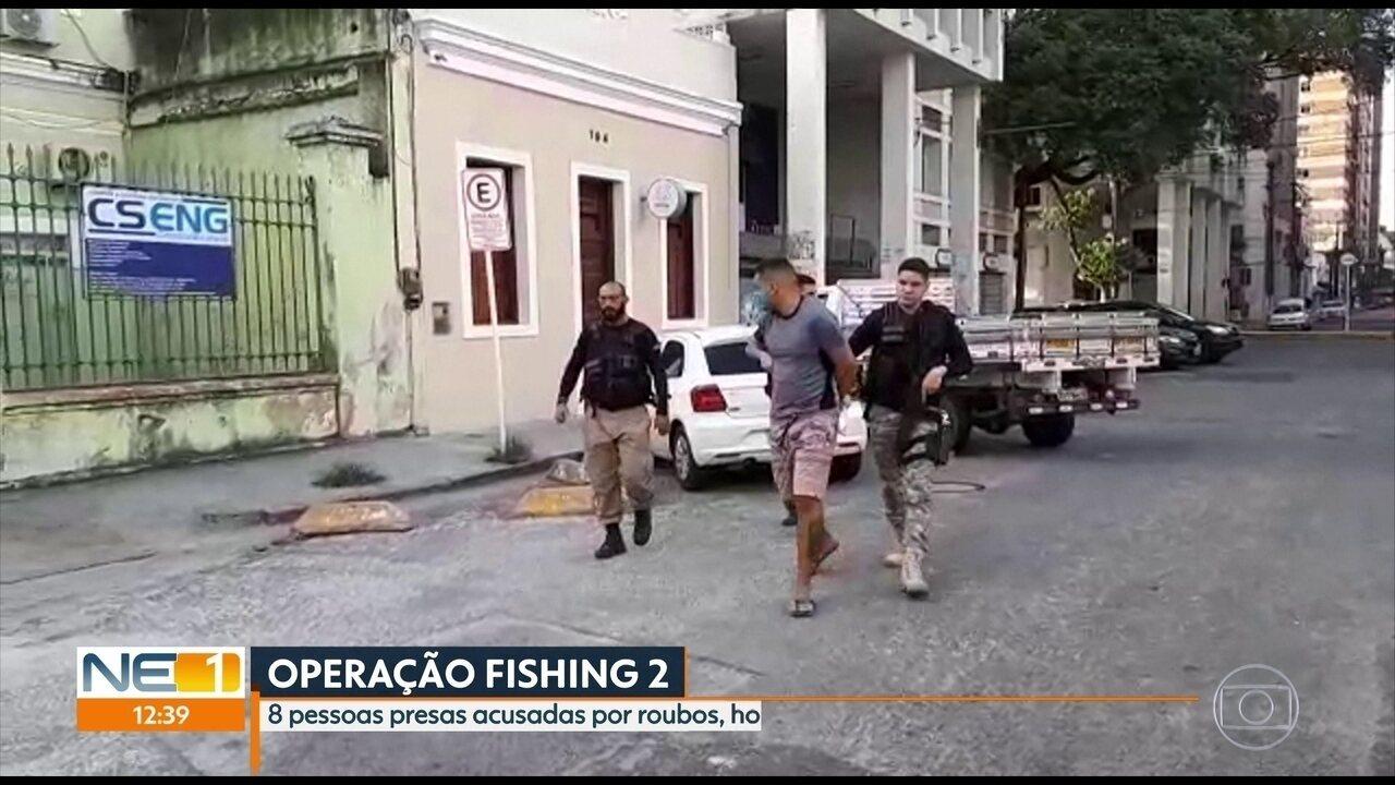 Polícia prende quadrilha envolvida com homicídios, tráfico e roubos no Recife e em Olinda