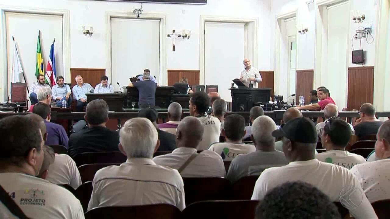 Terceirização de funcionários da Cesama é discutida em Juiz de Fora