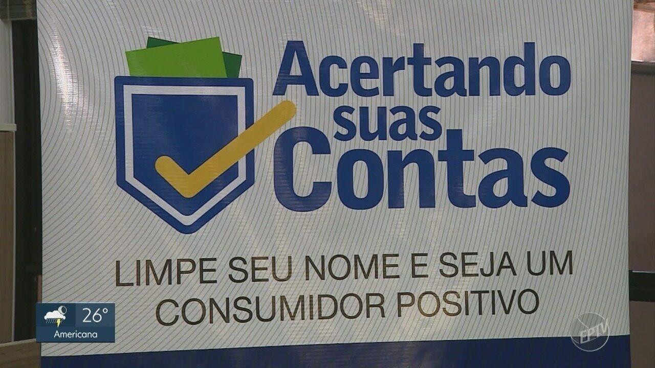 Cidades da região realizam campanha de renegociação de dívidas
