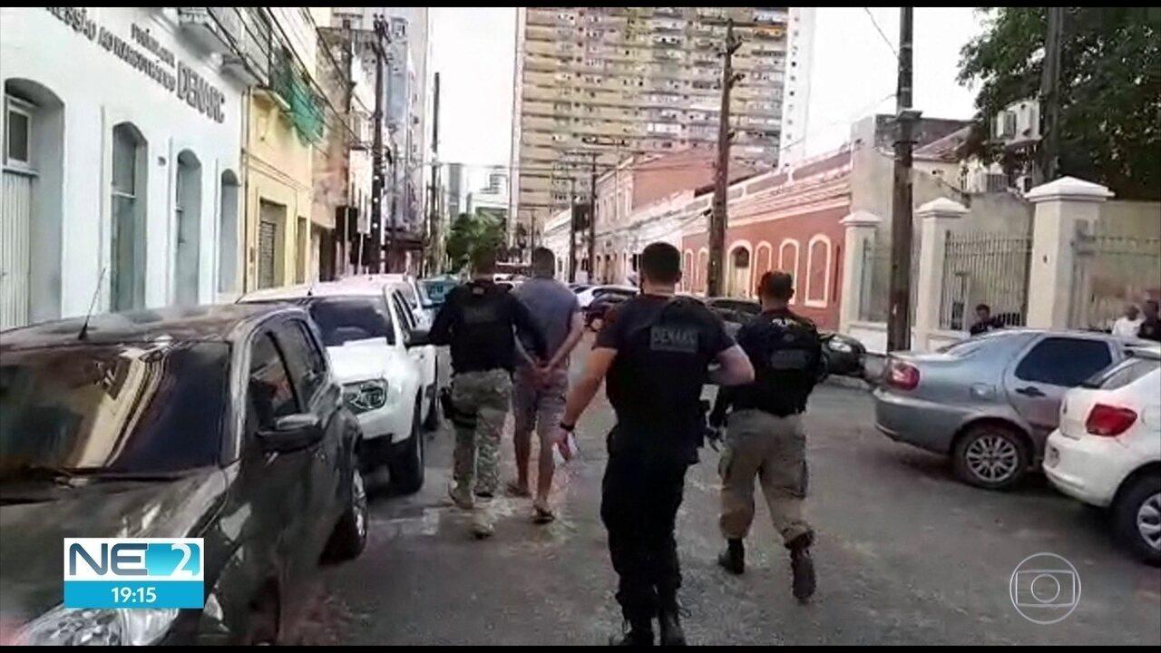 Polícia prende oito acusados de integrar quadrilhas de roubos, homicídios e tráfico