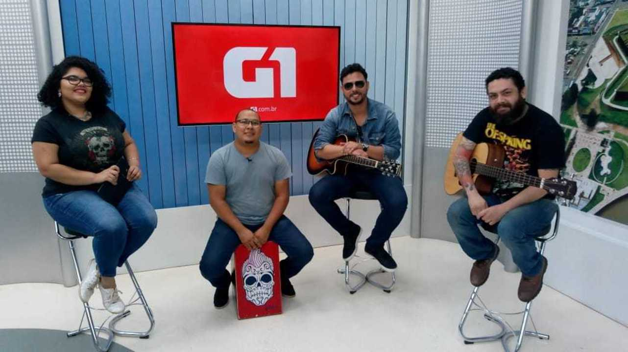 'G1 na Rede': Banda Tio Zé faz show especial com sucessos do U2 e Pearl Jam