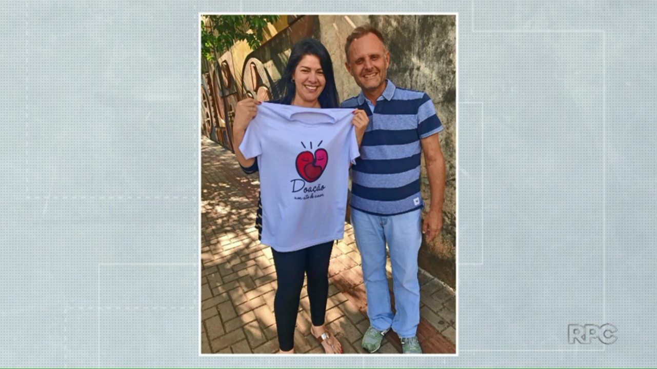 Ex-mulher doa um dos rins para ex-marido em Londrina