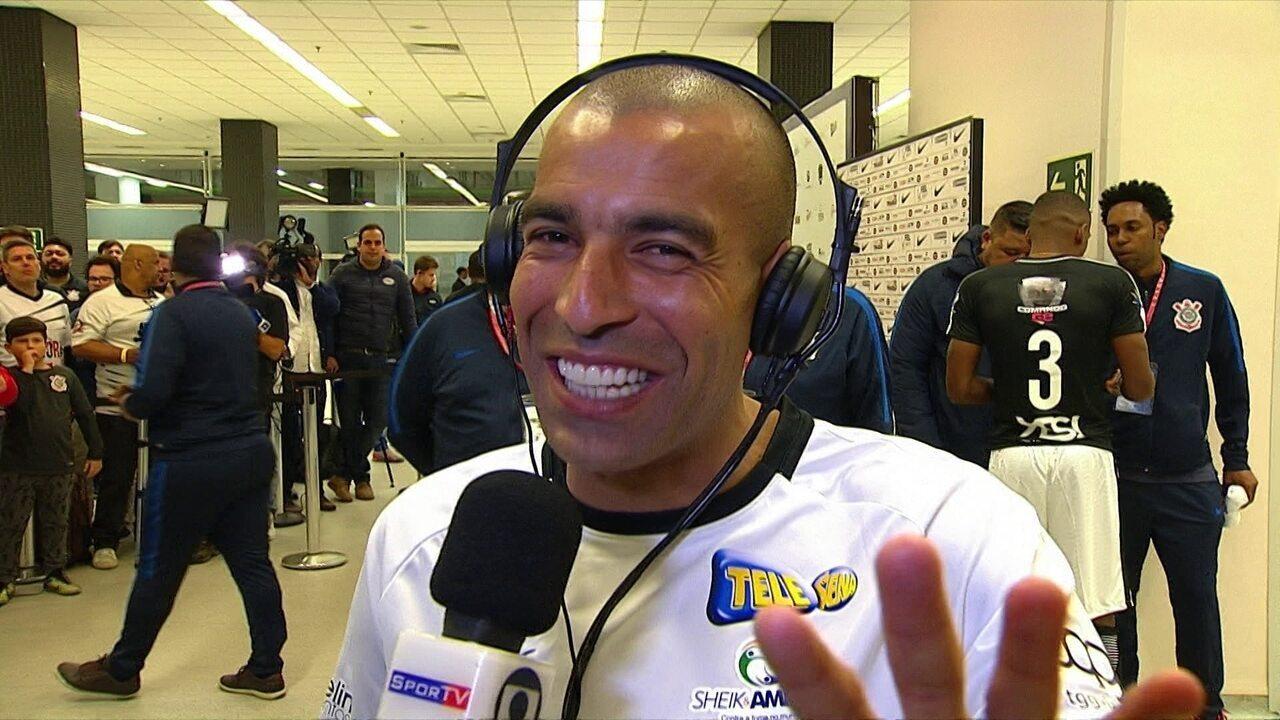 Emerson Sheik fala sobre jogo de despedida e revela planos para o futuro no Corinthians