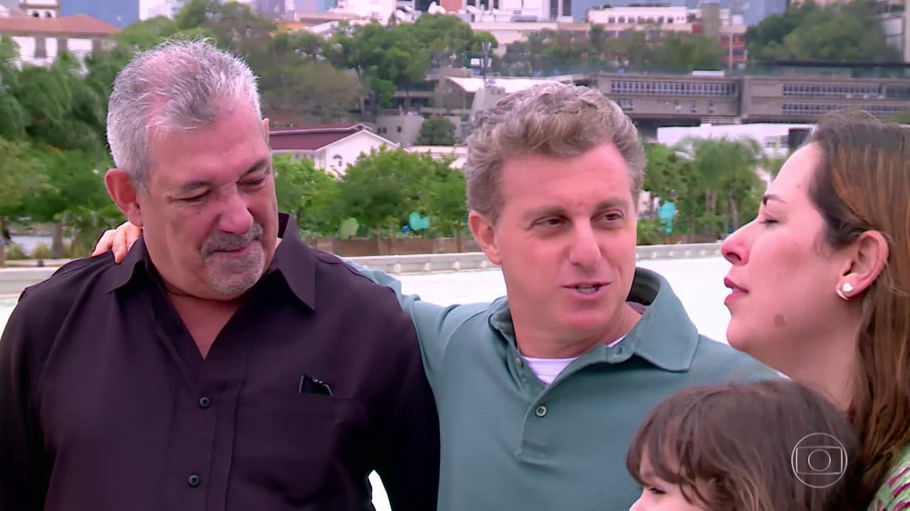 Veja como foi o encontro entre Aline e seu pai, Antônio Babo no quadro ´Encontrar Alguém´