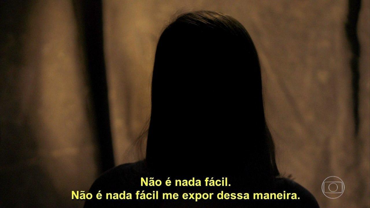 Brasileira conta como percebeu que estava sendo abusada
