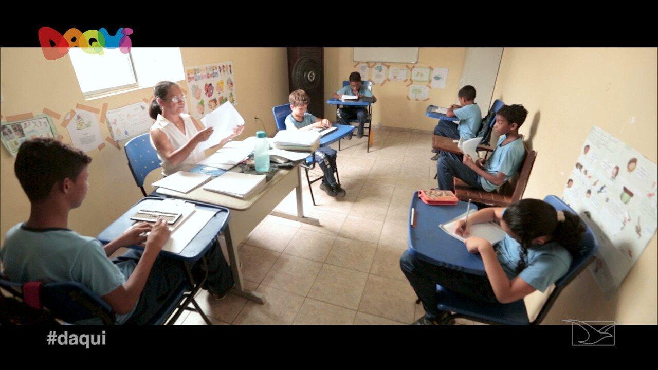 Escola de Cegos do Maranhão é destaque no Daqui