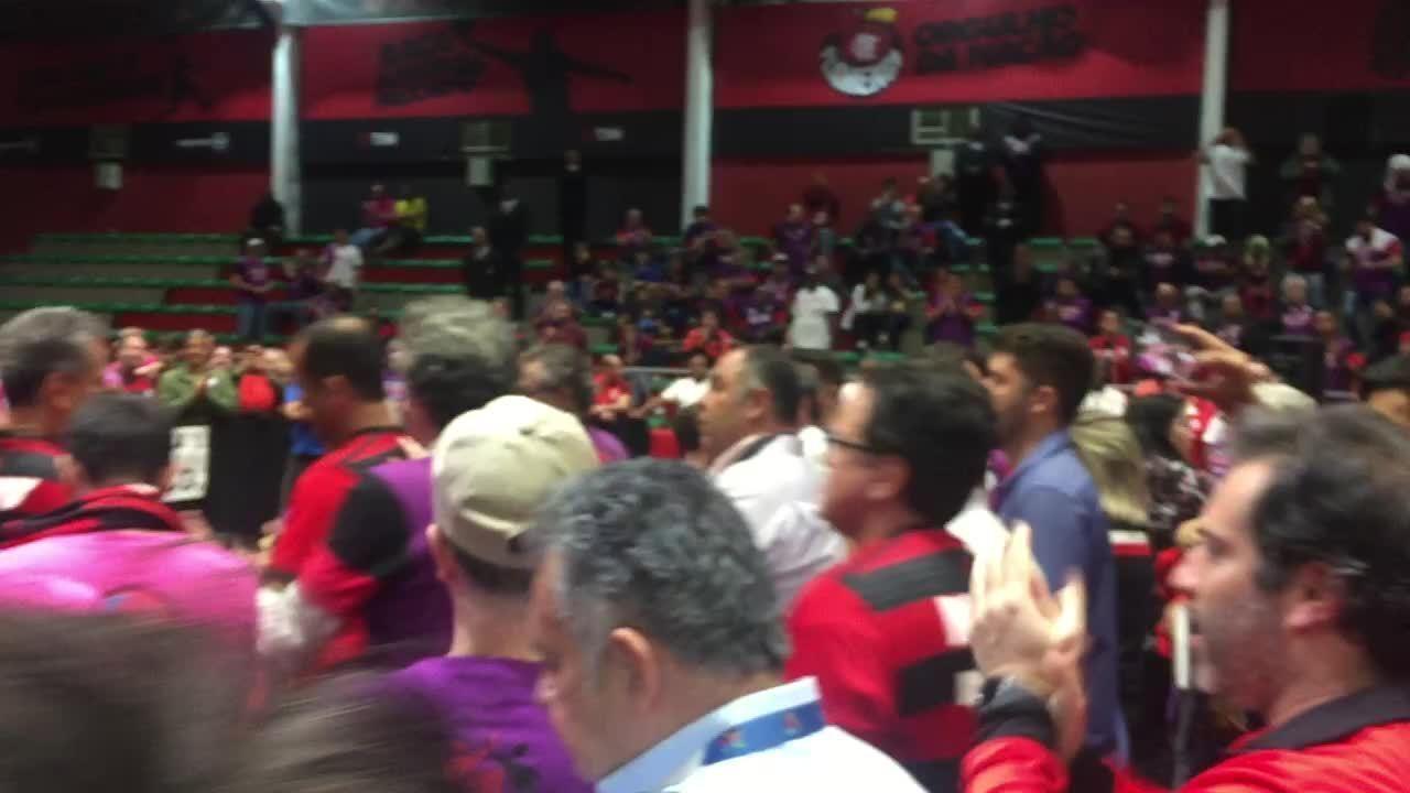 Rodolfo Landim é eleito presidente do Fla e ganha apoio de adversário na Gávea