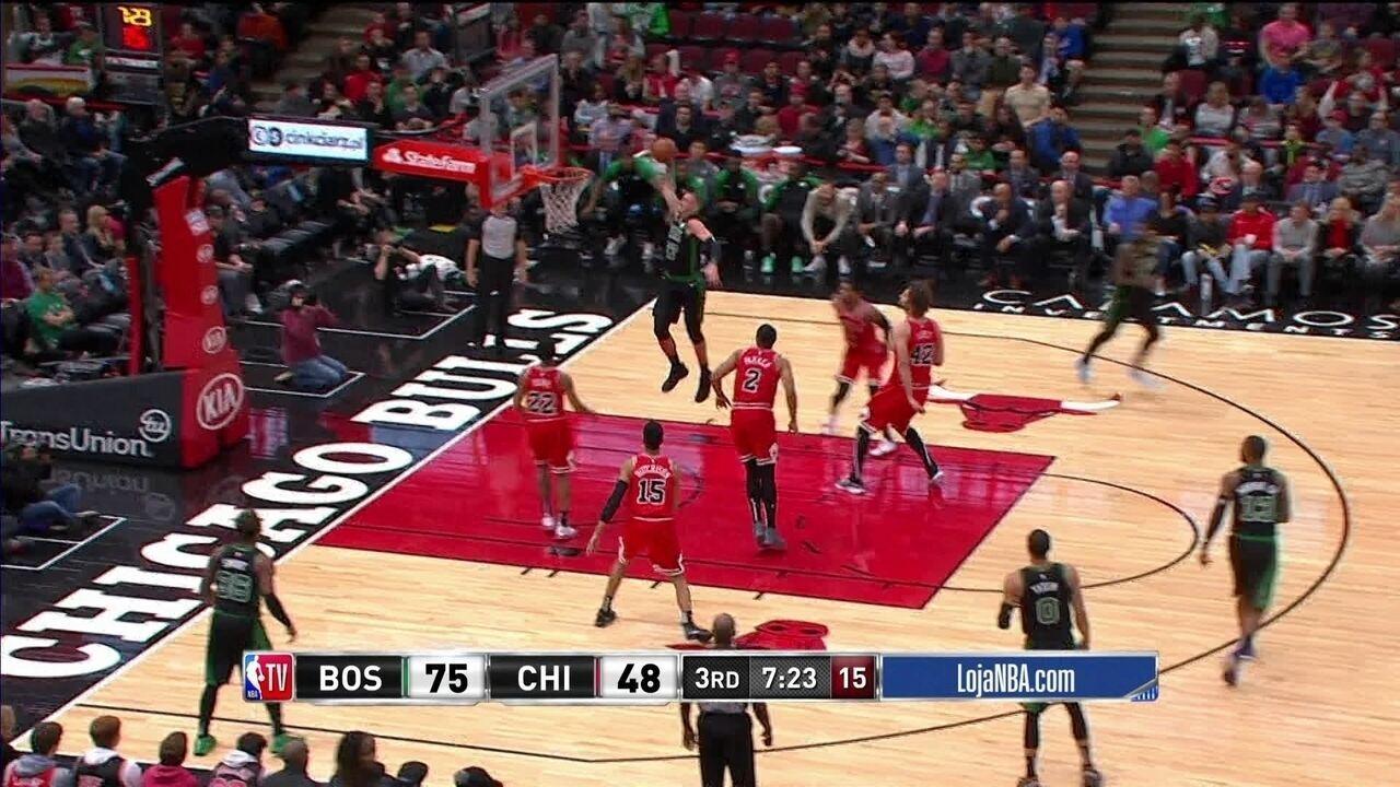 Melhores momentos: Boston Celtics 133 x 77 Chicago Bulls pela NBA