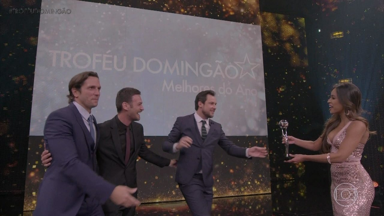 Sergio Guizé é o vencedor em 'Ator de Novela'