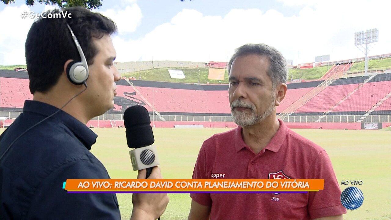 Presidente do Vitória fala sobre contratação de Marcelo Chamusca como novo  técnico e9da620239cd5