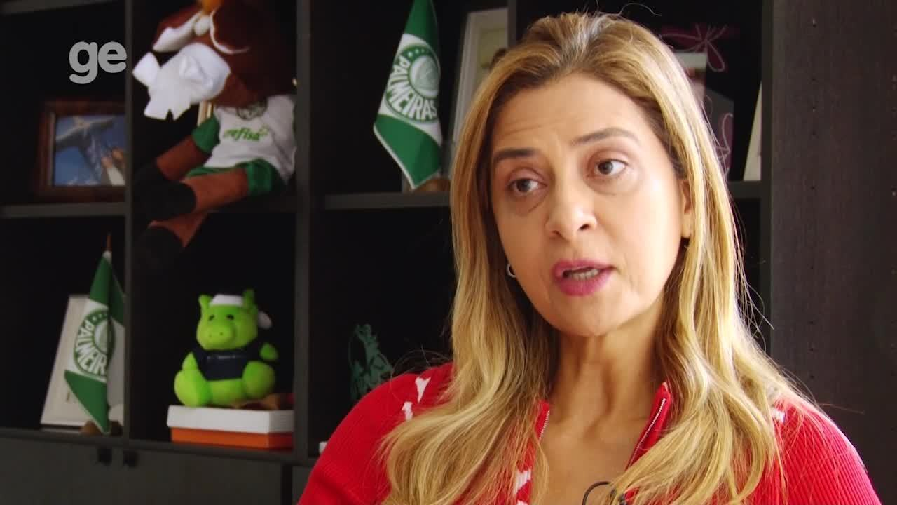 Leila Pereira faz balanço de mais um ano como principal patrocinadora do Palmeiras