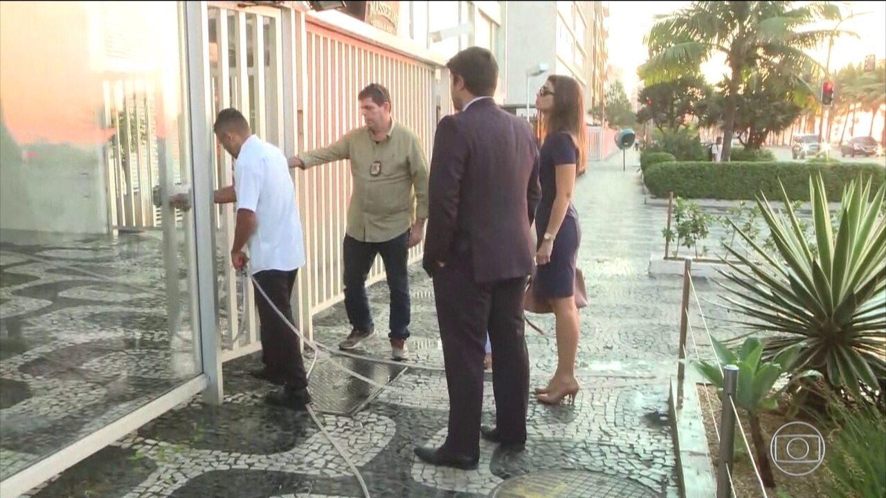 PF cumpre mandado de busca e apreensão em apartamento de Aécio Neves no Rio