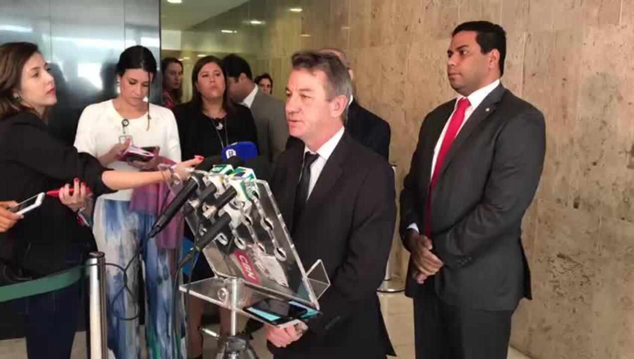 Antonio Denarium relata conversa com Temer no Palácio do Planalto