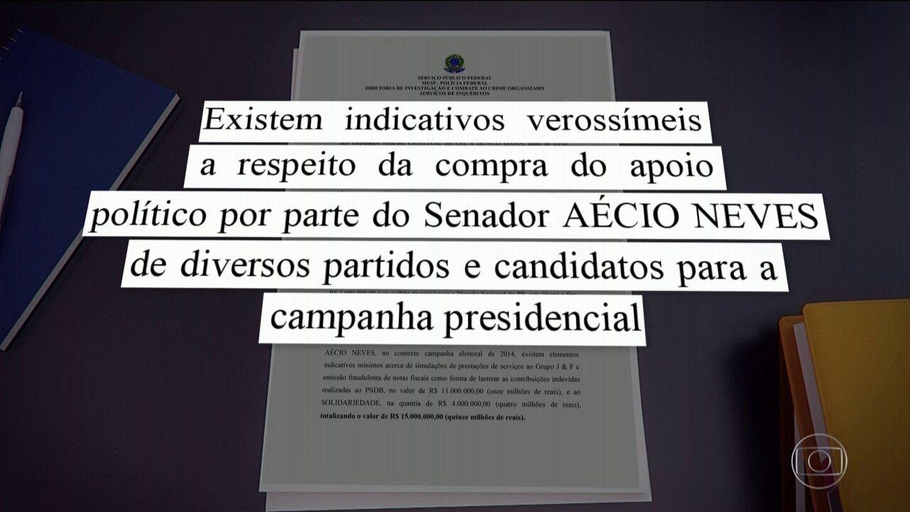 PF faz operação para apurar suposta compra de apoio político a Aécio, em 2014