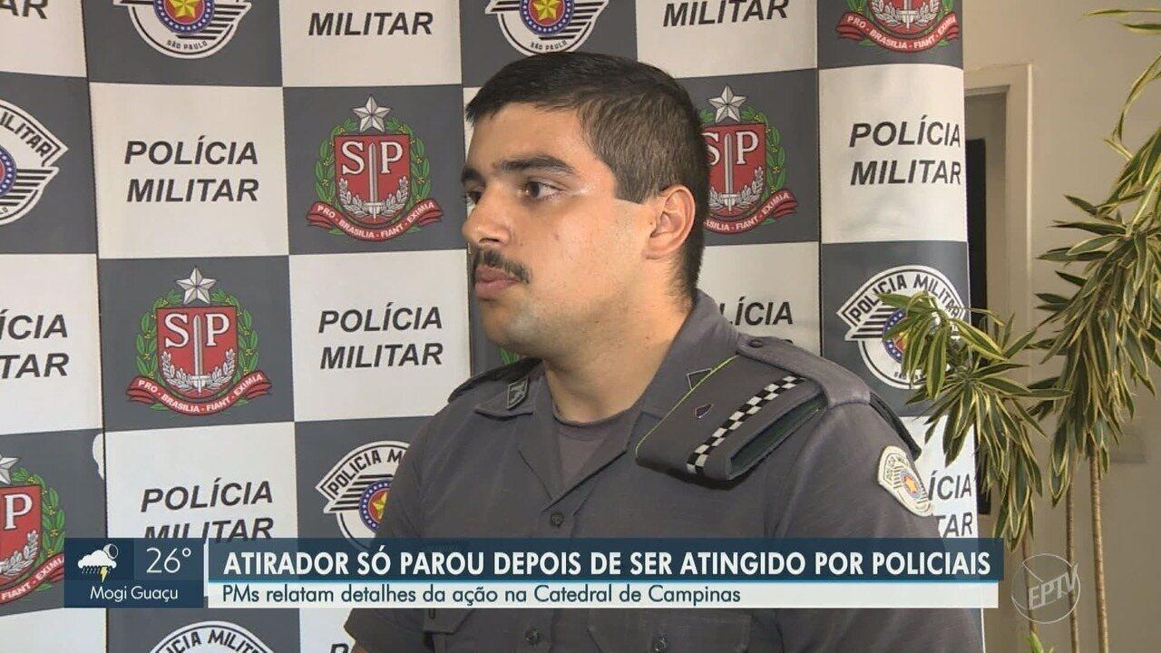 Policiais Militares relatam detalhes da ação na Catedral Metropolitana de Campinas