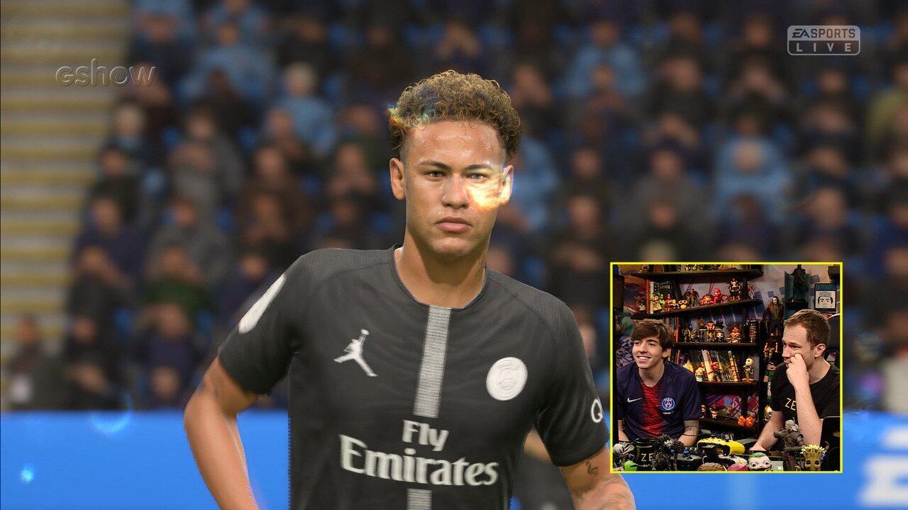 Confira gameplay estendido de 'Fifa 19' com Tiago Leifert e Rafifa