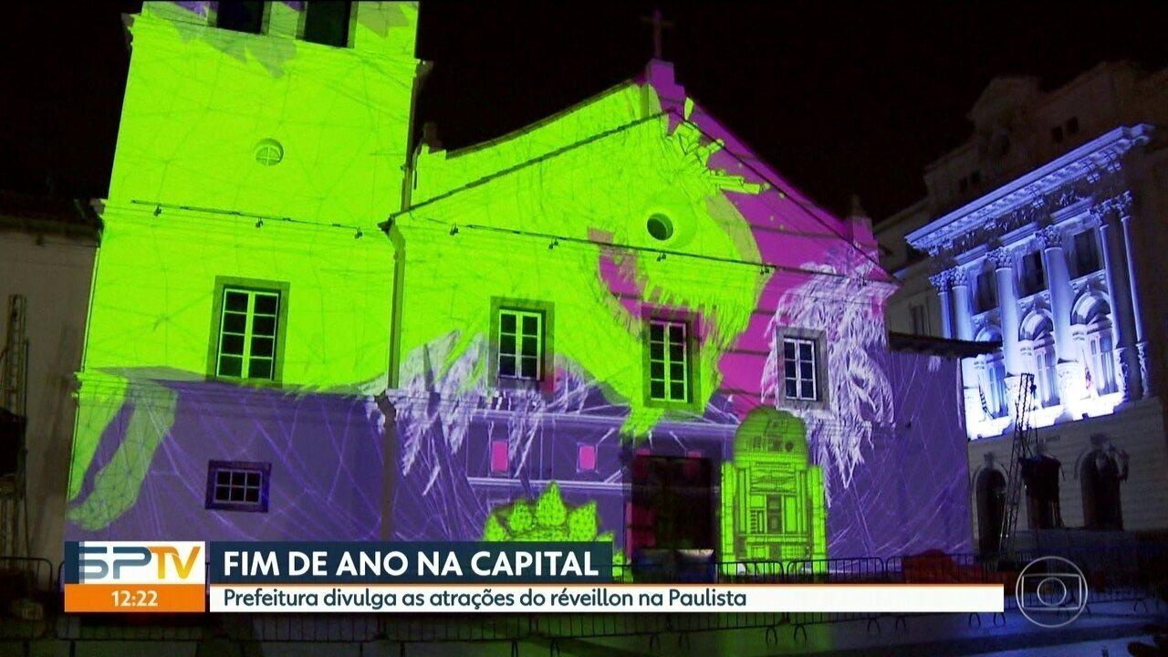 Confira as atrações da virada do ano na Paulista