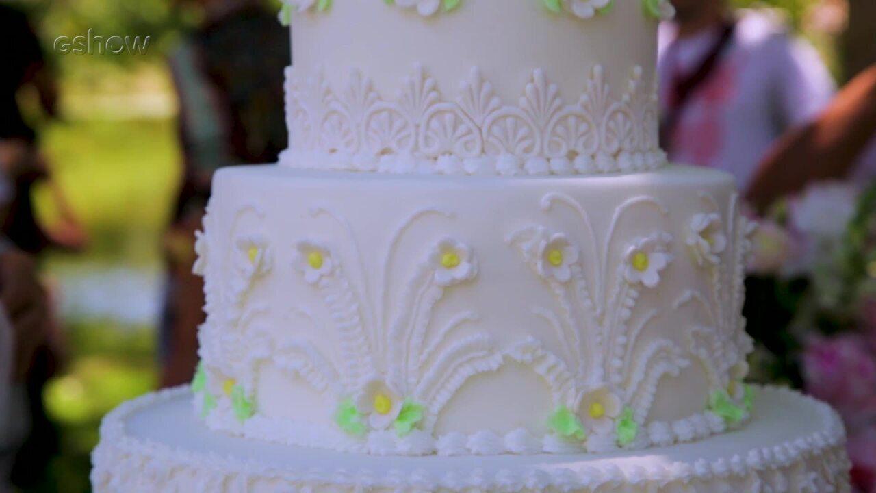 Confira a decoração do casamento de SAMOCAS