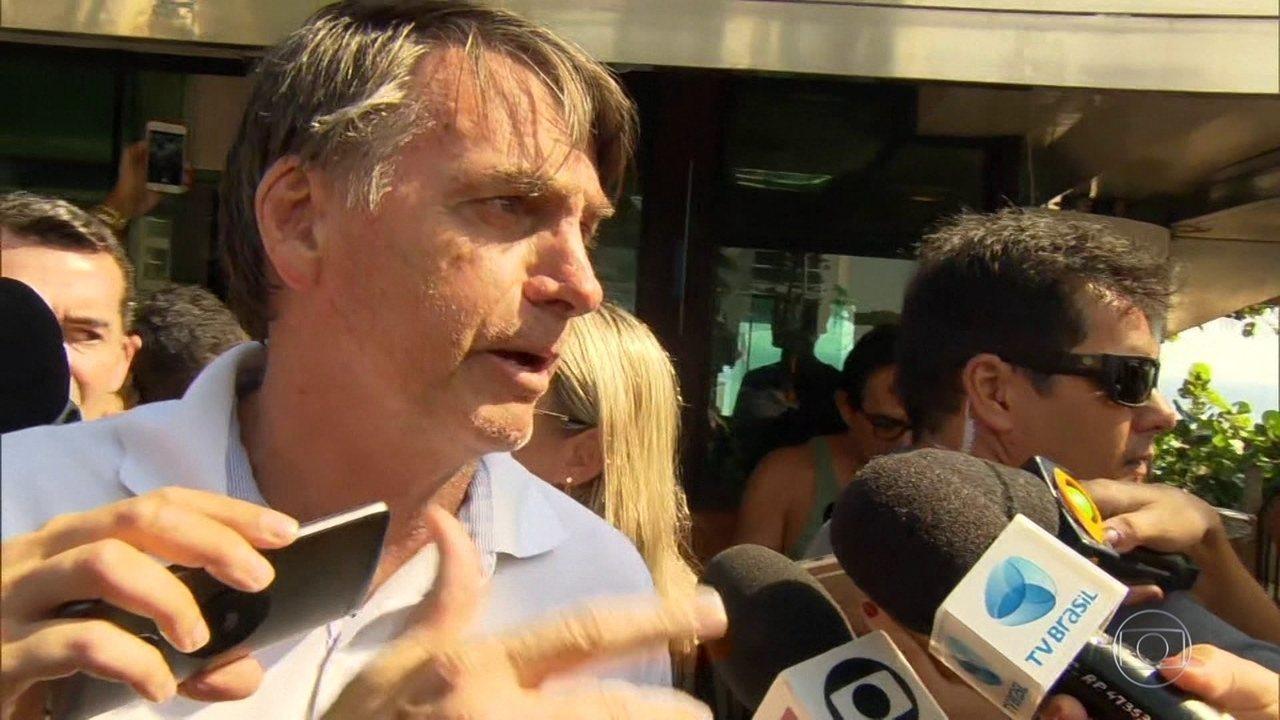 Bolsonaro diz que pena de morte é tema que não entrará em debate no governo dele