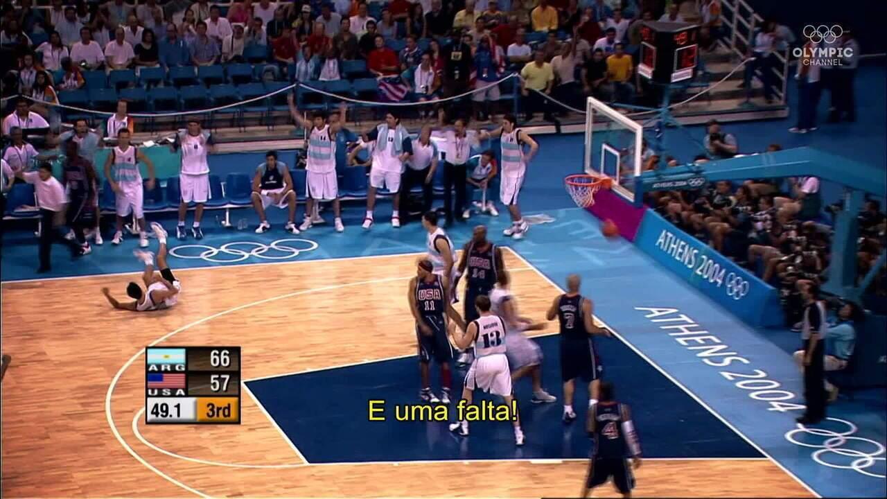 Geração de Ouro: a Argentina no topo do mundo em Atenas 2004