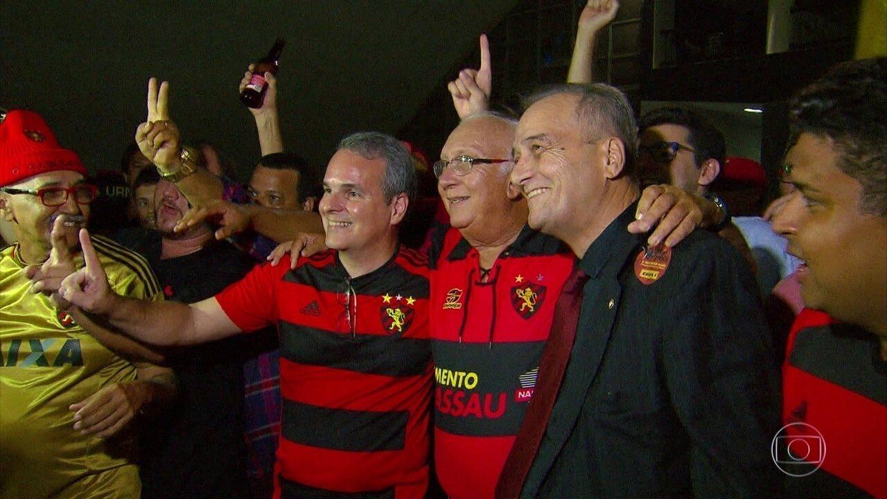 Relembre em vídeo a eleição de Milton Bivar como presidente do Sport para o biênio 2019/20