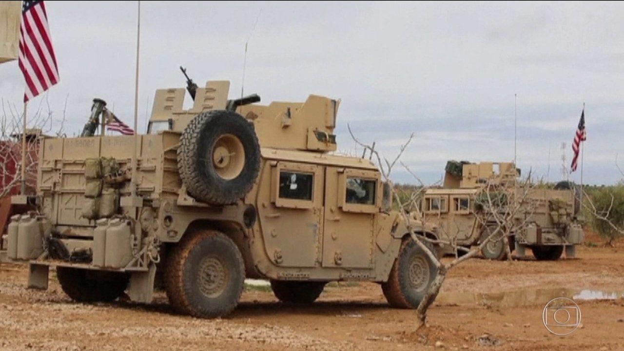 EUA anunciam retirada parcial das tropas na Síria