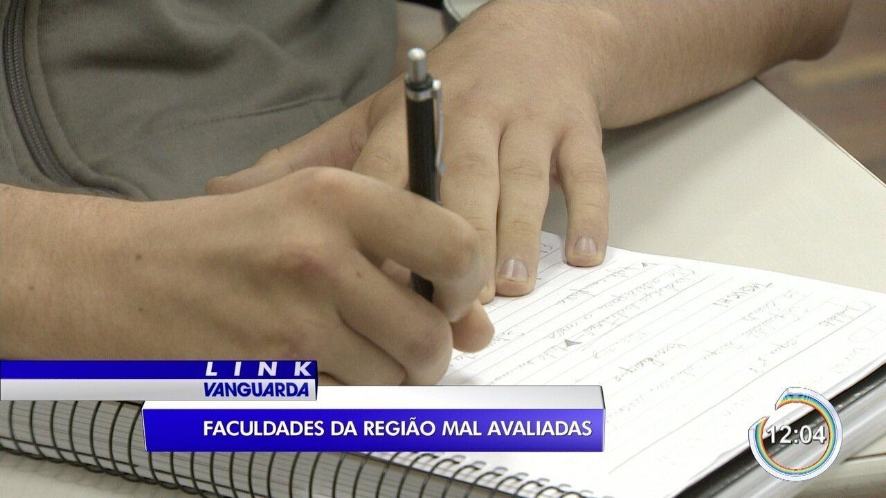 Sete das 278 faculdades mal avaliadas no país são da região