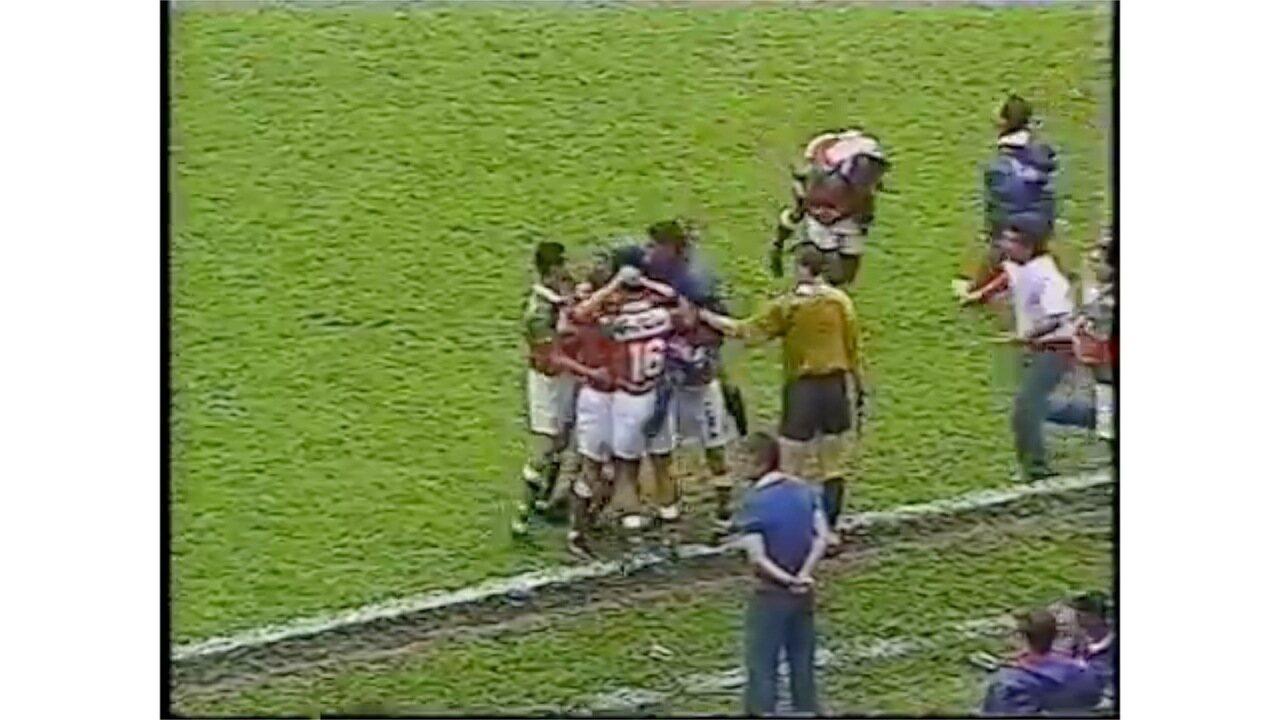 Portuguesa 4x1 Botafogo - Brasileiro de 1996