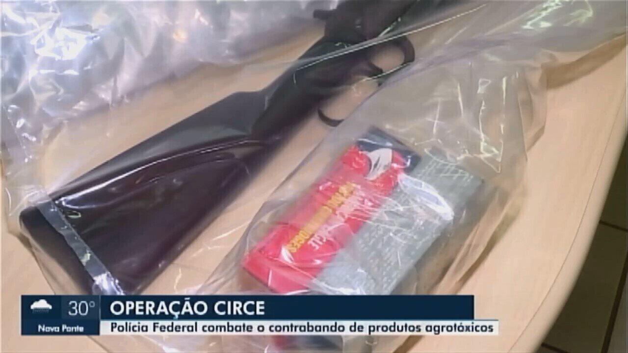 Polícia Federal cumpre mandados de busca e apreensão em Ibiá