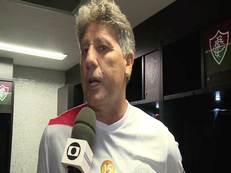 Renato diz que Grêmio está acertado com Thiago Neves