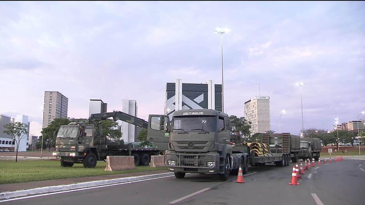 Confira os preparativos para a posse de Jair Bolsonaro no dia 1º janeiro
