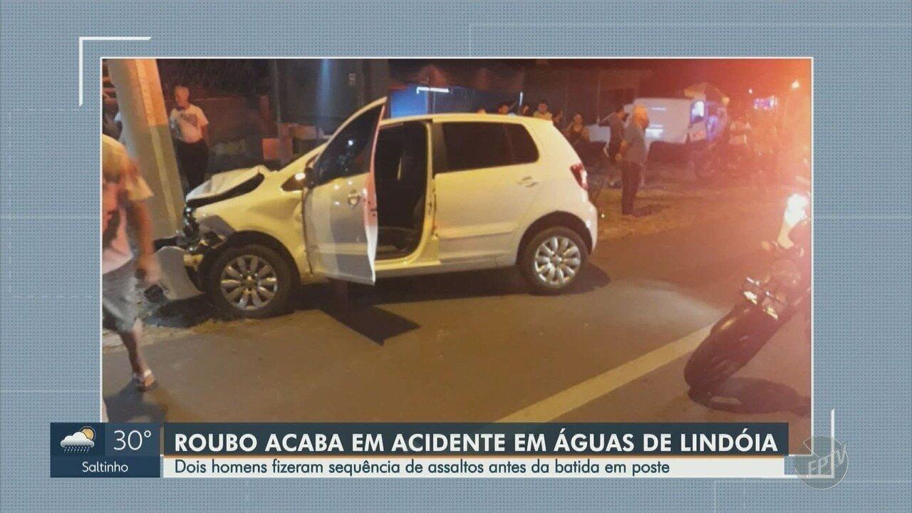 Dupla rouba táxi em Monte Sião e viaja para assaltar pousada