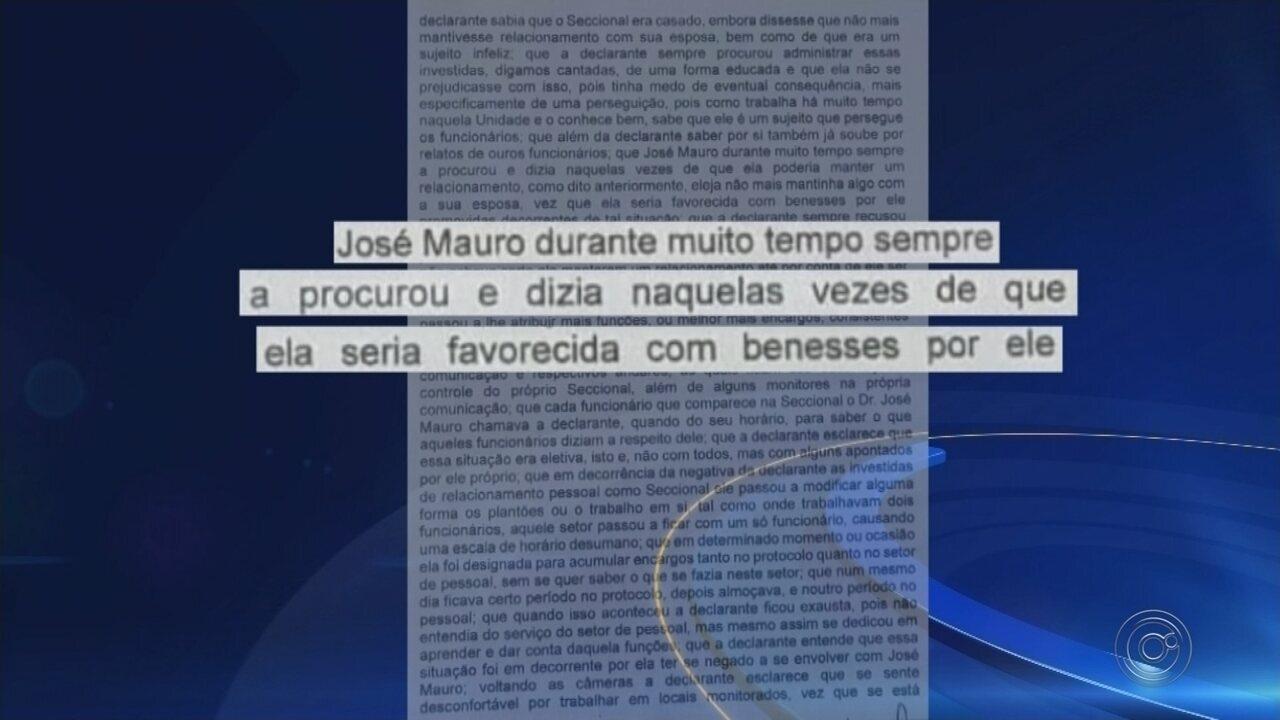 Delegado seccional de Rio Preto é acusado de assédio sexual e moral por policial civil