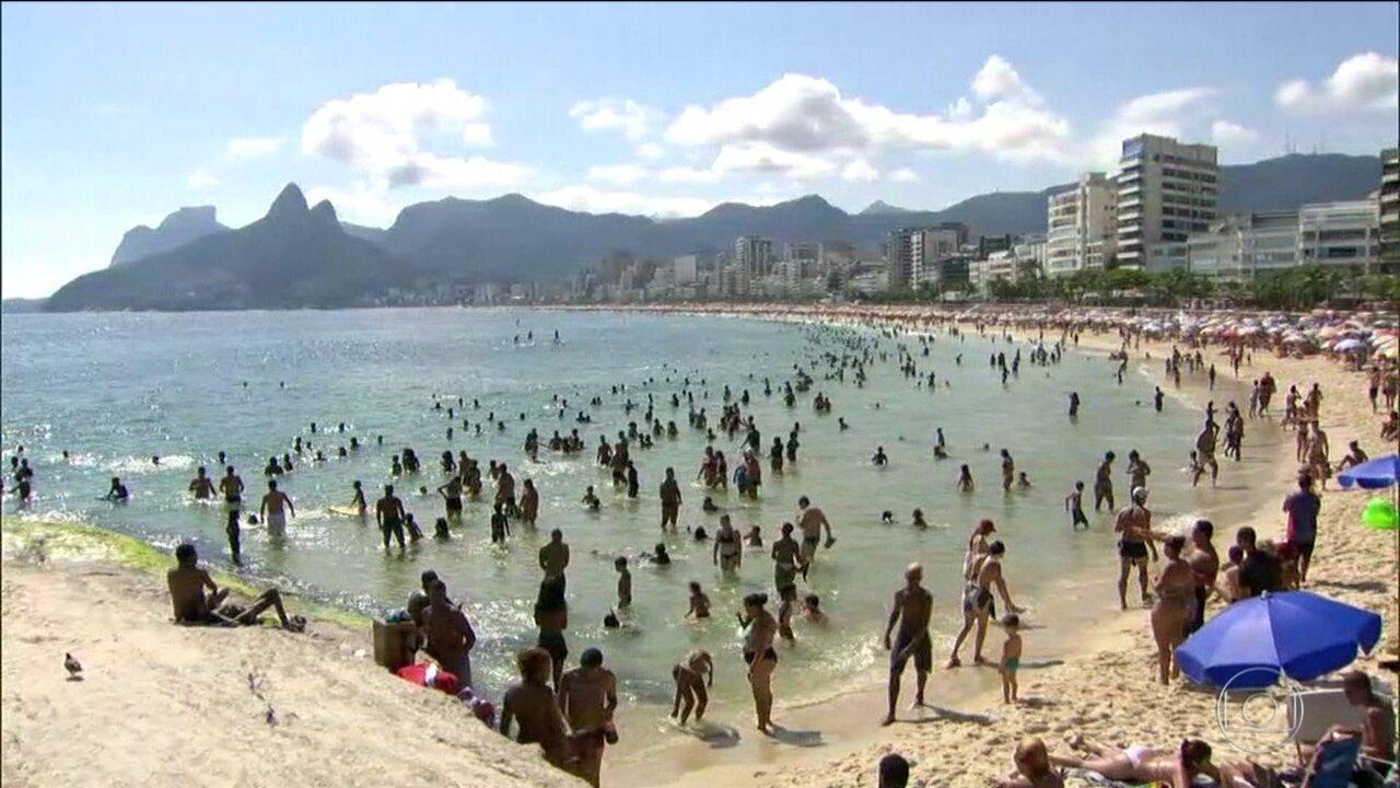A dois dias da virada do ano, hotéis do Rio registram 98% de ocupação