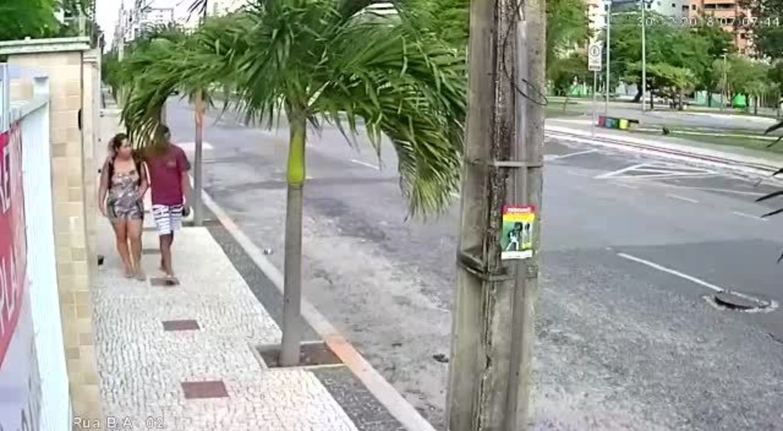Homem assalta babá em Fortaleza e finge ser amigo da vítima
