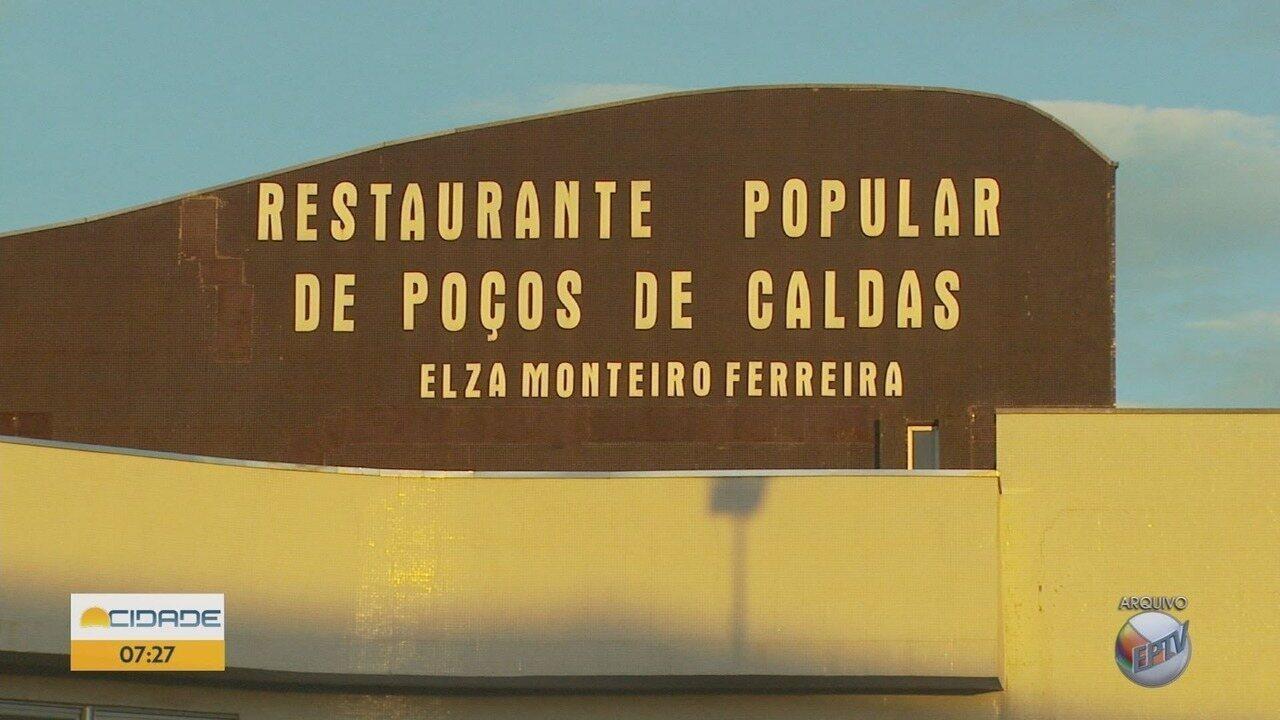 Valor das refeições no Restaurante Popular aumenta para R$ 5,50 em Poços de Caldas (MG)