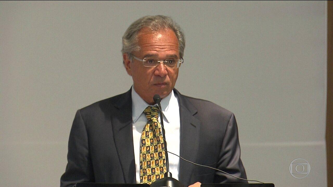 Paulo Guedes reafirma a necessidade de reformar a Previdência e de controlar gastos
