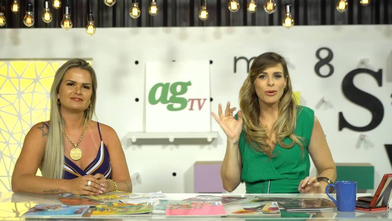 Veja o segundo bloco do AGTV, dia 05