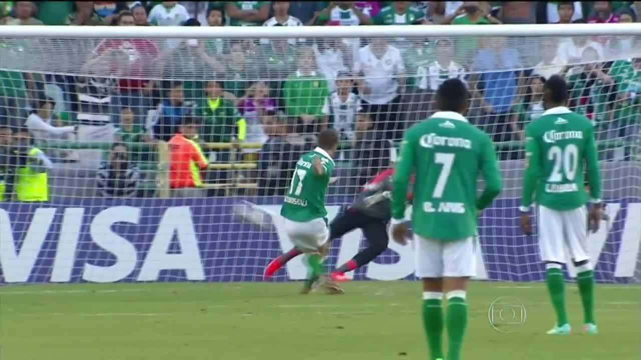 Veja os dois gols de Boselli sobre o Flamengo na Libertadores de 2014