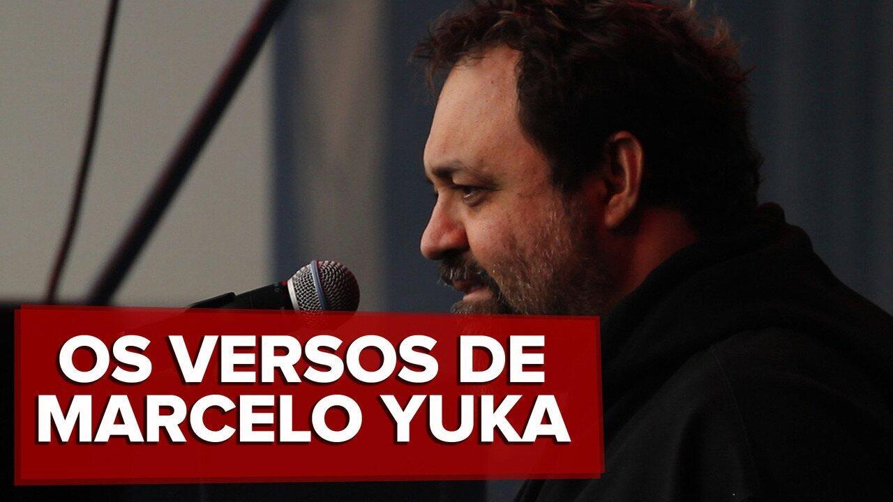 Os versos de Marcelo Yuka