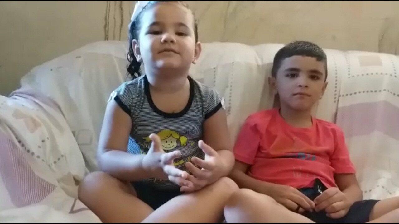 Crianças que ficaram em lancha desgovernada agradecem pessoas que as ajudaram no resgate